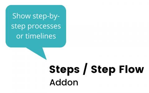 Steps / Step Flow Widget